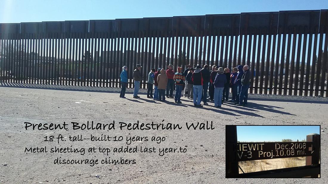 Bollard wall