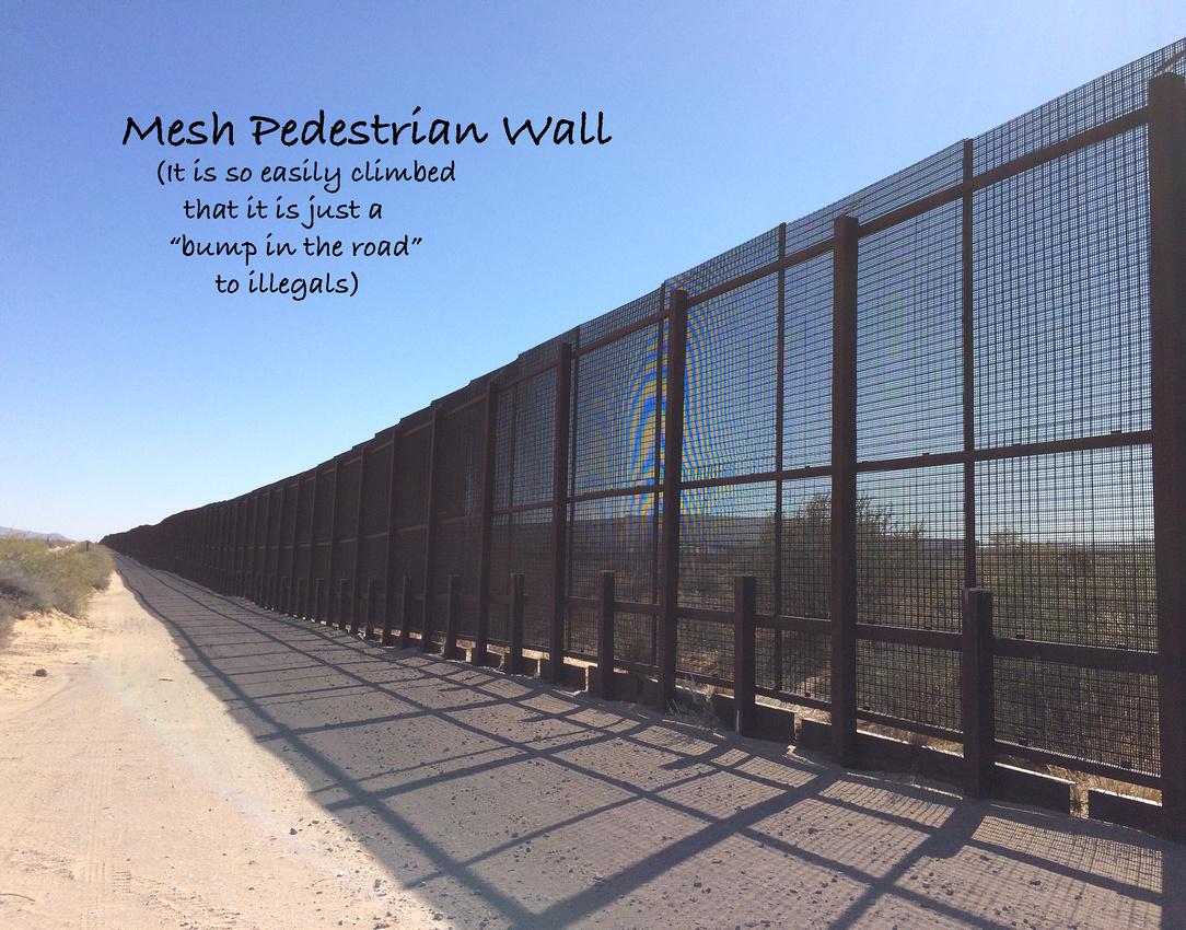 Mesh Pedestrian Wall2