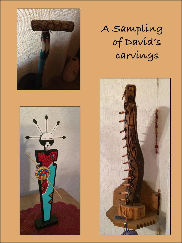 Davids carvings